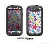 The Smiley Faced Vector Colored Starfish Pattern Skin For The Samsung Galaxy S3 LifeProof Case