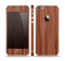 The Smooth-Grained Wooden Plank Skin Set for the Apple iPhone 5
