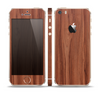 The Smooth-Grained Wooden Plank Skin Set for the Apple iPhone 5s