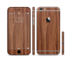 The Smooth-Grained Wooden Plank Sectioned Skin Series for the Apple iPhone 6