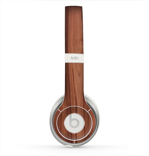 The Smooth-Grained Wooden Plank Skin for the Beats by Dre Solo 2 Headphones