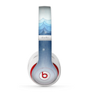 The Snowy Blue Paper Scene Skin for the Beats by Dre Studio (2013+ Version) Headphones