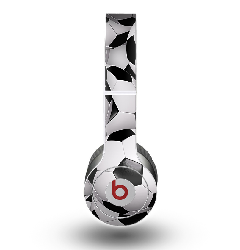 the soccer ball overlay skin for the beats by dre original solo solo