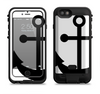the solid black anchor silhouette  iPhone 6/6s Plus LifeProof Fre POWER Case Skin Kit