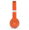 The Solid Burnt Orange Skin Set for the Beats by Dre Solo 2 Wireless Headphones