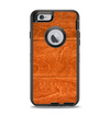 The Solid Cherry Wood Planks Apple iPhone 6 Otterbox Defender Case Skin Set
