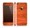 The Solid Cherry Wood Planks Skin Set for the Apple iPhone 5s
