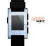 The Sparkly Snow Skin for the Pebble SmartWatch