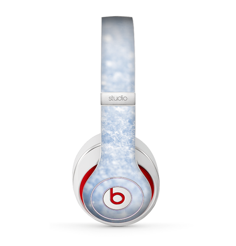 The Sparkly Snow Texture Skin for the Beats by Dre Studio (2013+ Version) Headphones