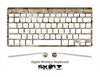 The Stone Skin For The Apple Wireless Keyboard