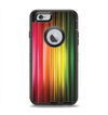 The Straight Abstract Vector Color-Strands Apple iPhone 6 Otterbox Defender Case Skin Set