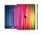 The Straight Abstract Vector Color-Strands Full Body Skin Set for the Apple iPad Mini 3