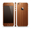 The Straight WoodGrain Skin Set for the Apple iPhone 5s