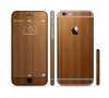 The Straight WoodGrain Sectioned Skin Series for the Apple iPhone 6 Plus