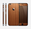 The Straight WoodGrain Skin for the Apple iPhone 6