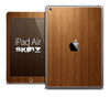 The Straight Wood Skin for the iPad Air