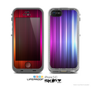The Straigth Vector HD Lines Skin for the Apple iPhone 5c LifeProof Case