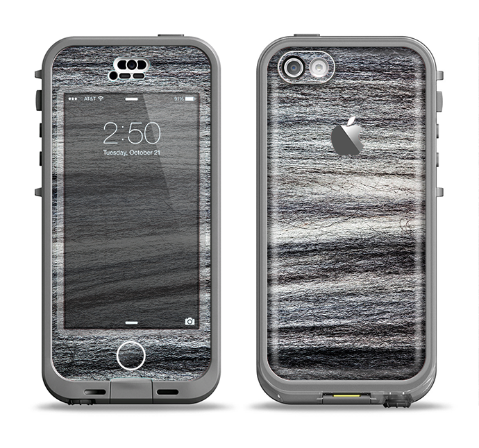 The Strands of Dark Colored Hair Apple iPhone 5c LifeProof Nuud Case Skin Set