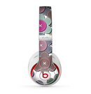 The Striped Vector Flower Buttons Skin for the Beats by Dre Studio (2013+ Version) Headphones
