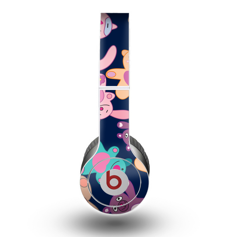The Stuffed Vector Color-Bears Skin for the Beats by Dre Original Solo-Solo HD Headphones