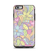 The Subtle Abstract Flower Pattern Apple iPhone 6 Plus Otterbox Symmetry Case Skin Set