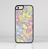 The Subtle Abstract Flower Pattern Skin-Sert for the Apple iPhone 5c Skin-Sert Case