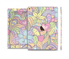 The Subtle Abstract Flower Pattern Skin Set for the Apple iPad Pro