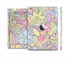The Subtle Abstract Flower Pattern Skin Set for the Apple iPad Mini 4