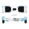 The Subtle Blue Cartoon Owls Full-Body Skin Set for the Smart Drifting SuperCharged iiRov HoverBoard
