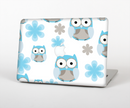 "The Subtle Blue Cartoon Owls Skin Set for the Apple MacBook Pro 15"" with Retina Display"