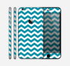 The Subtle Blue & White Chevron Pattern V2 Skin for the Apple iPhone 6 Plus