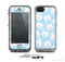 The Subtle Blue & White Faced Cats Skin for the Apple iPhone 5c LifeProof Case