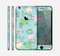 The Subtle Blue With Coffee Icon Sketches Skin for the Apple iPhone 6 Plus