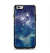 The Subtle Blue and Green Nebula Apple iPhone 6 Otterbox Symmetry Case Skin Set