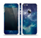The Subtle Blue and Green Nebula Skin Set for the Apple iPhone 5
