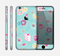 The Subtle Blue with Pink Treats Skin for the Apple iPhone 6