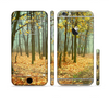 The Subtle Gold Autumn Forrest Sectioned Skin Series for the Apple iPhone 6 Plus