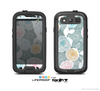 The Subtle Gray & White Floral Illustration Skin For The Samsung Galaxy S3 LifeProof Case