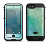 the subtle green blue watercolor  iPhone 6/6s Plus LifeProof Fre POWER Case Skin Kit