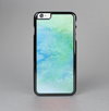 The Subtle Green & Blue Watercolor Skin-Sert Case for the Apple iPhone 6 Plus