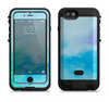 the subtle green blue watercolor v2  iPhone 6/6s Plus LifeProof Fre POWER Case Skin Kit
