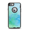 The Subtle Green & Blue Watercolor V2 Apple iPhone 6 Otterbox Defender Case Skin Set