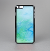 The Subtle Green & Blue Watercolor V2 Skin-Sert Case for the Apple iPhone 6 Plus