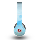 The Subtle Green & Blue Watercolor V2 Skin for the Beats by Dre Original Solo-Solo HD Headphones