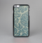 The Subtle Green Lace Pattern Skin-Sert for the Apple iPhone 6 Skin-Sert Case