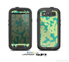 The Subtle Green Seamless Leaves Skin For The Samsung Galaxy S3 LifeProof Case