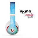 The Subtle Green & Blue Watercolor V2 Skin for the Beats Studio for the Beats Skin