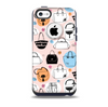 The Subtle Pink And Purses Skin for the iPhone 5c OtterBox Commuter Case