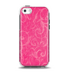 The Subtle Pink Floral Laced Apple iPhone 5c Otterbox Symmetry Case Skin Set