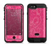 the subtle pink floral laced  iPhone 6/6s Plus LifeProof Fre POWER Case Skin Kit